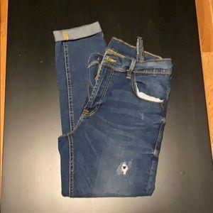 Men's Skinny tapered stretch jeans 32 waist